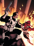 Punisher No.10 Cover: Punisher Plastic Sign by Mike McKone