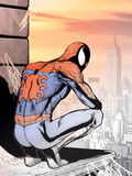 Spider-Man: Swing Shift Directors Cut Cover: Spider-Man Wall Decal by Phil Jimenez