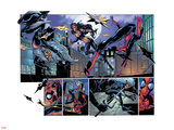 Ultimate Spider-Man No.52 Group: Black Cat, Spider-Man and Elektra Wall Decal by Mark Bagley