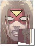 Spider-Woman: Origin No.3 Cover: Spider Woman Wood Print by Jonathan Luna