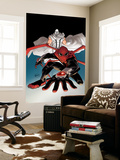 A+X 14 Cover: Magneto, Spider-Man Wall Mural by David LaFuente