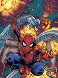 Amazing Spider-Man No.526 Cover: Spider-Man Plastic Sign by Mike Wieringo