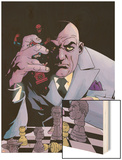 Kingpin No.7 Cover: Spider-Man and Kingpin Wood Print by Tony Harris