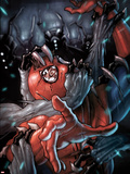 The Amazing Spider-Man No.652 Cover: Spider-Man Fighting and Trapped Plastic Sign by Stefano Caselli