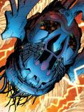 Nova No.9: Marvel Universe Fighting Plastic Sign by Wellinton Alves