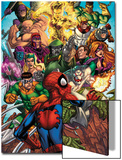 Spider-Man & The Secret Wars No.2 Cover: Spider-Man Posters by Patrick Scherberger