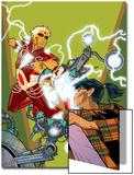 Warlock No.4 Cover: Adam Warlock, Chin and Janie Posters by Charlie Adlard