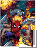 Amazing Spider-Man No.526 Cover: Spider-Man Poster by Mike Wieringo