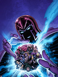 House of M: Masters of Evil No.4 Cover: Magneto Plastic Sign by Mike Perkins