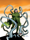 Spider-Man Doctor Octopus No.5 Cover: Doctor Octopus Plastic Sign by Randy Green