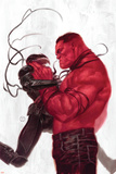 Thunderbolts 2 Cover: Red Hulk, Venom Plastic Sign by Julian Totino Tedesco