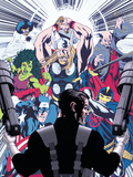 Punisher No.8 Cover: Punisher Plastic Sign by Mike McKone