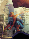 The Amazing Spider-Man No.2 Cover: Spider-Man Wall Decal by Stephane Roux