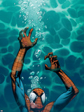 Ultimate Spider-Man No.130 Cover: Spider-Man Plastic Sign by Stuart Immonen