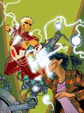 Warlock No.4 Cover: Adam Warlock, Chin and Janie Plastic Sign by Charlie Adlard