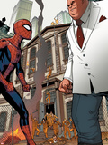 Marvel Adventures Spider-Man No.24: Spider-Man and Kingpin Plastic Sign by Rob Disalvo