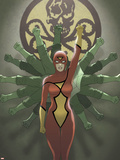 Spider-Woman Origins Cover: Spider Woman and Hydra Wall Decal by Jonathan Luna