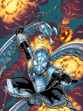 Marvel Knights Spider-Man No.21 Cover: Spider-Man Wall Decal by Mike Wieringo