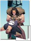 Punisher War Journal No.14 Cover: Punisher and Kraven The Hunter Print by Ariel Olivetti