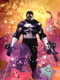 Punisher War Journal Annual No.1 Cover: Punisher Plastic Sign by Dave Wilkins