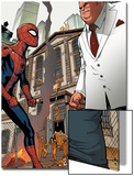 Marvel Adventures Spider-Man No.24: Spider-Man and Kingpin Print by Rob Disalvo