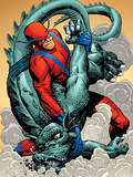 Marvel: Monsters On The Prowl No.1 Group: Giant Man and Grogg Wall Decal by Duncan Fegredo
