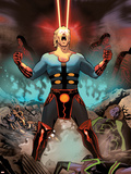 Eternals No.6 Cover: Ikaris Plastic Sign by Daniel Acuna