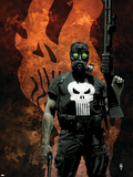 Punisher No.57 Cover: Punisher Plastic Sign