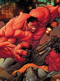 Venom No.13.3: Red Hulk Plastic Sign by Stefano Caselli