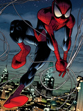 Ultimate Spider-Man No.152: Spider-Man Swinging Wall Decal by Sara Pichelli