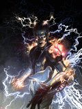S.H.I.E.L.D. No.5 Cover: Nikola Tesla Standing with Energy Plastic Sign by Gerald Parel