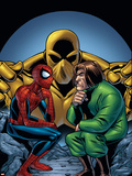 Marvel Adventures Spider-Man No.11 Cover: Spider-Man and Mad Thinker Plastic Sign by Mike Norton