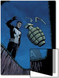 Punisher War Zone No.2 Cover: Punisher Prints by Steve Dillon