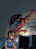 Friendly Neighborhood Spider-Man No.5 Cover: Spider-Man Plastic Sign by Mike Wieringo