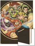 Marvel Adventures Spider-Man No.3 Cover: Doctor Octopus Wood Print by Patrick Scherberger