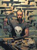 Punisher No.1 Cover: Punisher Plastic Sign by Tim Bradstreet
