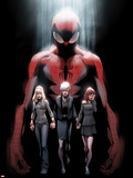 Ultimate Fallout No.1 Cover: Spider-Man, Gwen Stacy, May Parker, and Mary Jane Watson Wall Decal by Mark Bagley