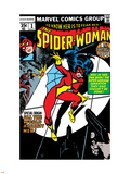 Spider-Woman No.1 Cover: Spider Woman Plastic Sign by Carmine Infantino