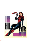 Amazing Spider-Girl No.30 Cover: Spider-Girl Plastic Sign by Ron Frenz