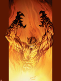 Ultimate Spider-Man No.76 Cover: Hobgoblin Wall Decal by Mark Bagley