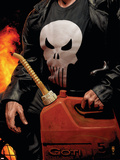 Punisher MAX No.30 Cover: Punisher Wall Decal by Tim Bradstreet