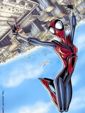 Spider-Girl No.68 Cover: Spider-Girl Wall Decal by Ron Frenz