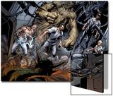 Ultimate Spider-Man No.156: Electro, Kraven the Hunter, Sandman, Vulture, and Doctor Octopus Prints by Mark Bagley