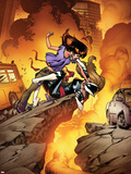 Ultimate Spider-Man No.132 Cover: Kitty Pryde, and Mary Jane Watson Wall Decal by Stuart Immonen