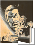 Strokers Dracula No.2 Cover: Dracula Wood Print by Dick Giordano