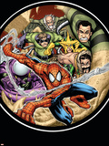 Marvel Adventures Spider-Man No.3 Cover: Doctor Octopus Plastic Sign by Patrick Scherberger