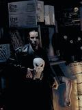 Punisher No.9 Cover: Punisher Cartel de plástico por Tim Bradstreet
