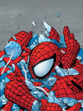Amazing Spider-Man No.565 Cover: Spider-Man Plastic Sign by Phil Jimenez