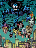 Spider-Girl: The End! No.1: Mayhem in a Web above a Crowd Wall Decal by Sal Buscema