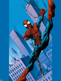 Ultimate Spider-Man No.75 Cover: Spider-Man Plastic Sign by Mark Bagley